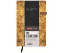 Bloc notes A5 dictando, coperta tare lucioasa cu magnet, 96 file, HERLITZ My Book Classic Oriental