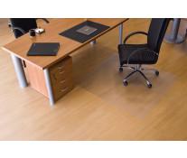 Protectie podea pentru suprafete dure, forma O, 130 x 120cm, RS OFFICE EcoGrip