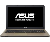 "Laptop ASUS X540SA, 15.6"" HD, Procesor Intel® Celeron® N3060 pana la 2.48 GHz, 4GB, 500GB, FreeDos, Chocolate Black"