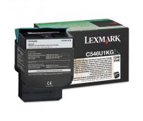 Toner, black, LEXMARK C546U1KG
