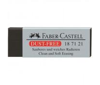 Radiera neagra, FABER CASTELL Dust Free