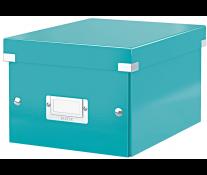 Cutie pentru arhivare, 216 x 160 x 282mm, turcoaz, LEITZ Click & Store