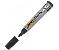 Marker permanent, 2.5mm, negru, BIC 2000