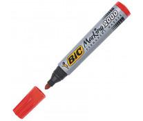 Marker permanent, 2.5mm, rosu, BIC 2000