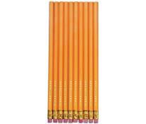 Creion cu mina grafit, radiera, HB, 10 buc./set, HERLITZ