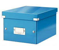 Cutie pentru arhivare, 216 x 160 x 282mm, albastru, LEITZ Click & Store