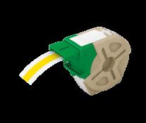 Cartus, plastic, 12mmx10m, plastic galben, adeziv permanent, LEITZ Icon