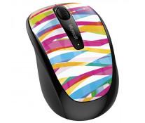 Mouse Wireless MICROSOFT Mobile 3500 Bandage Stripe, 1000dpi