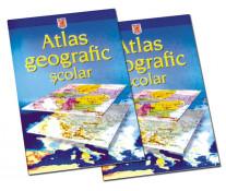 Atlas geografic scolar, clasele 5-8, HERLITZ