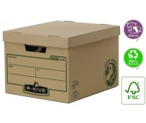 Container pentru arhivare, 325 x 260 x 375mm, FELLOWES Earth Series