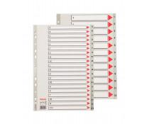 Separatoare din plastic, index A-Z, A4, ESSELTE Maxi