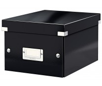 Cutie pentru arhivare, 216 x 160 x 282mm, negru, LEITZ Click & Store