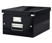 Cutie pentru arhivare, 281 x 200 x 370mm, negru, LEITZ Click & Store