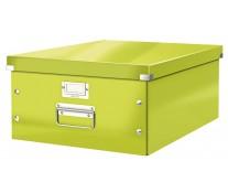 Cutie pentru arhivare, 369 x 200 x 484mm, verde, LEITZ Click & Store