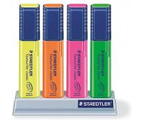 Textmarker 1-5mm, 4 culori/set, STAEDTLER Textsurfer classic