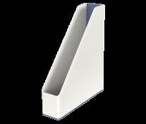 Suport vertical, culori duale, alb metalizat, LEITZ WOW