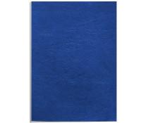 Coperti imitatie piele - albastru, A4, 250 g/mp, 100 bucati/top, FELLOWES Delta