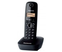 Telefon DECT PANASONIC KX-TG1611FXH, negru, fara fir