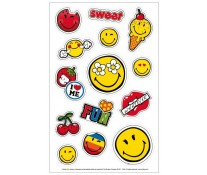 Sticker, 3 coli/set, HERLITZ Smiley World Girly