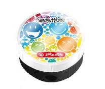 Ascutitoare rotunda, container, HERLITZ Simley World Rainbow