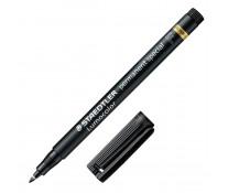 Marker permanent, special, 0.6mm, negru, STAEDTLER Lumocolor