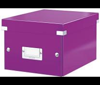 Cutie pentru arhivare, 216 x 160 x 282mm, mov, LEITZ Click & Store