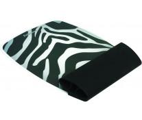 Mousepad cu suport pentru incheieturi, zebra, FELLOWES I-Spire