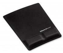 Mouse pad ergonomic, negru, FELLOWES Microban