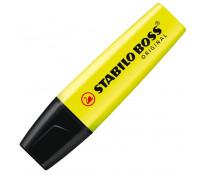 Textmarker, 2-5mm, galben, STABILO Boss Original