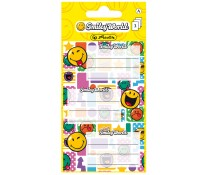 Etichete scolare, 3 coli, HERLITZ Smiley World