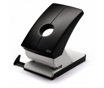 Perforator de birou, pentru maxim 60 coli, negru, NOVUS B260