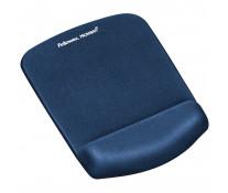 Mouse pad ergonomic, albastru, FELLOWES Microban