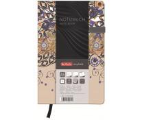 Bloc notes A5 dictando, coperta tare lucioasa cu magnet, 96 file, HERLITZ My Book Classic Romantic