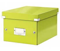 Cutie pentru arhivare, 216 x 160 x 282mm, verde, LEITZ Click & Store