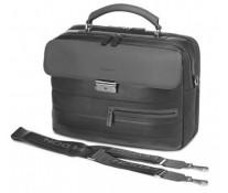 """Geanta pentru laptop 15"""", din piele de bovina, negru, FEDON Brief-1"""