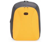 Rucsac pentru laptop 13'', galben, FEDON Tehc-Pack