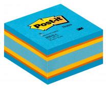 Notes autoadeziv cub, 76 x 76mm, 450 file/set, POST-IT 2030-BA