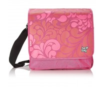 Geanta de umar, tip messenger, HERLITZ Be.bag Ornament Pink