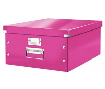 Cutie pentru arhivare, 369 x 200 x 484mm, roz, LEITZ Click & Store