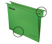 Dosar suspendabil, verde, ESSELTE Classic