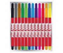 Carioci, 12 culori/set, PIGNA Angry Birds
