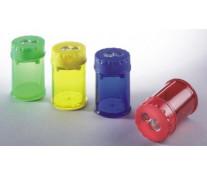 Ascutitoare din plastic, dubla, cu container, LACO