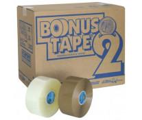 Banda adeziva, 50mm x 200m, transparent, SYROM Bonus Tape 2