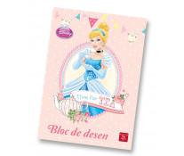 Bloc de desen, A4, 160 g/mp, 16 file, PIGNA Premium Princess