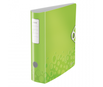 Biblioraft, 7.5cm, verde metalizat, LEITZ 180° Active WOW