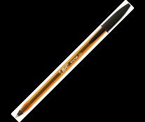 Pix fara mecanism, 0.8mm, negru, BIC Cristal fine