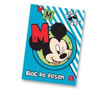 Bloc de desen, A4, 160 gmp, 16 file, PIGNA Premium Mickey Mouse