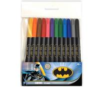 Carioci, 12 culori/set, BATMAN