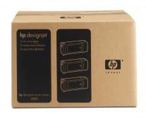Cartus, black, nr. 90, 3 cartuse/set, HP C5095A