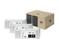 Cartus, black, nr. 81, 3 cartuse/set, HP C5066A Dye